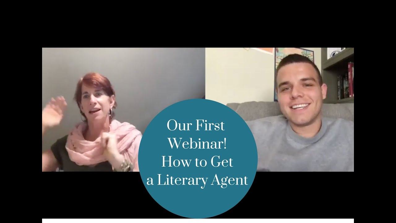 Our First Webinar! (How to Get a Literary Agent)