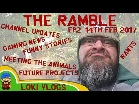 The Ramble - 14th Feb 2017 - New series reveal, Diet Update, Meet Midge. Liverpool talk