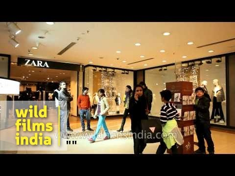 42237770 Zara and Tommy Hilfiger stores at Select CityWalk: Indian retail story -  YouTube