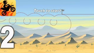 Bike Race Free - Top Motorcycle Racing Games - Dunes Gameplay Walkthrough Part 2 (iOS, Android)