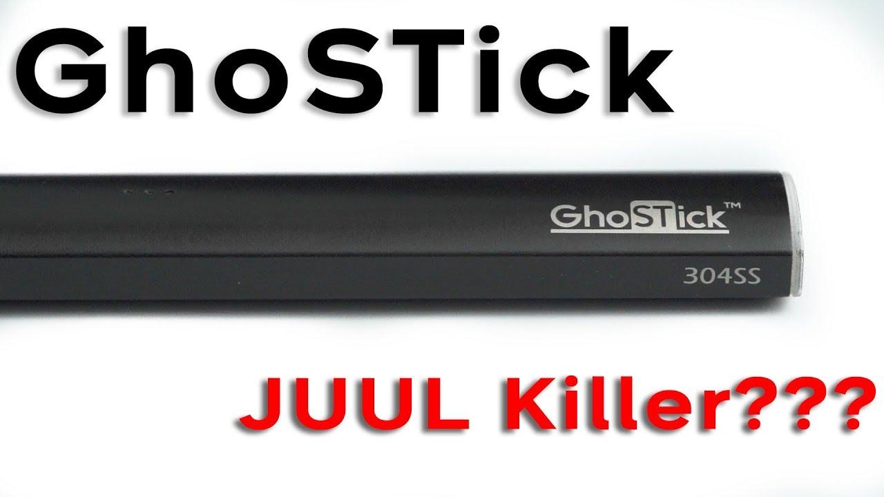 GHOSTICK    Best JUUL Alternative???