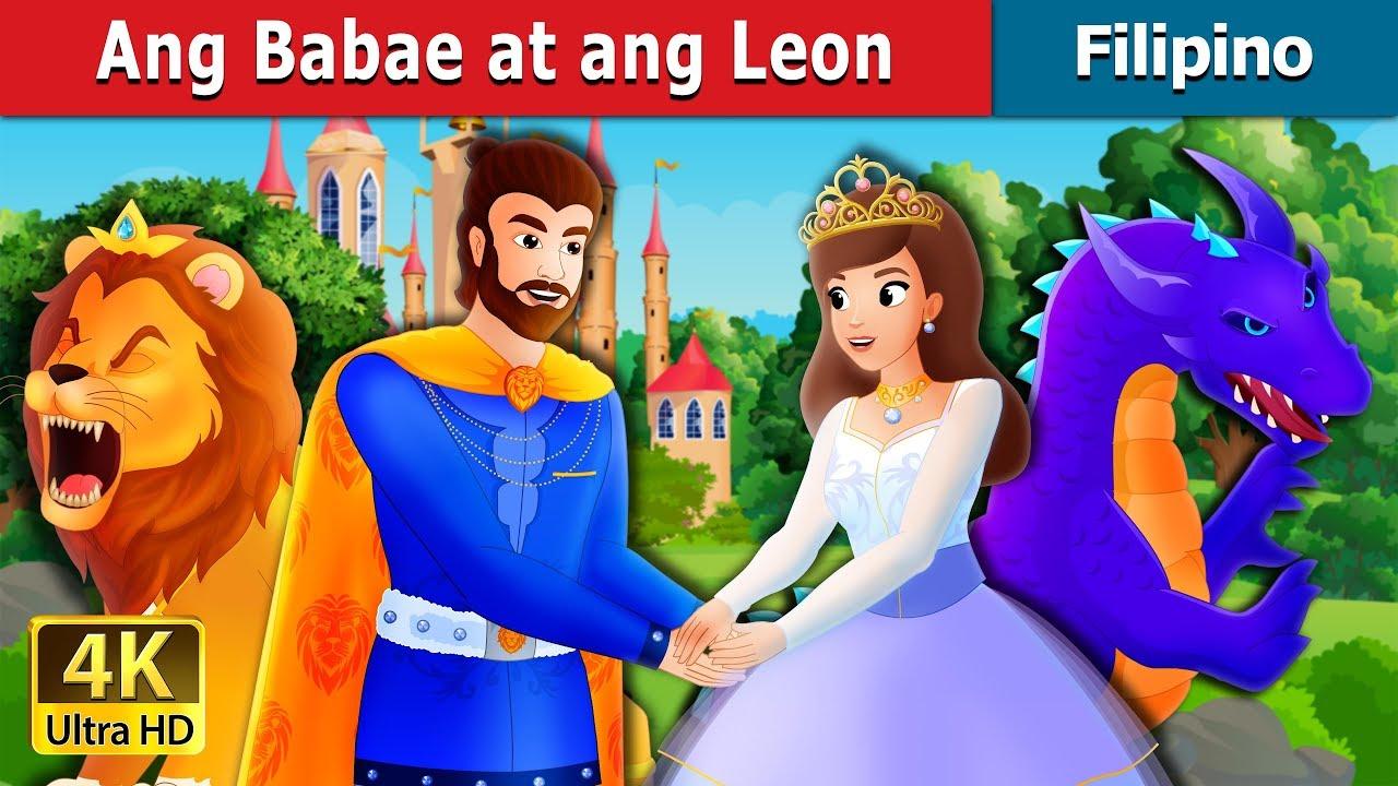 Download Ang Babae at ang Leon | Kwentong Pambata | Filipino Fairy Tales