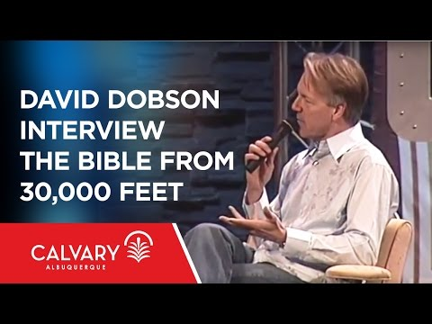 David Dobson Interview - The Bible From 30,000 Feet - Part 1