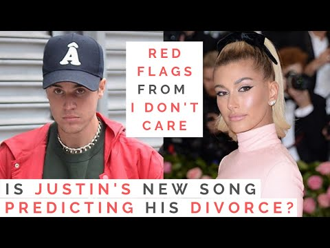 "THE TRUTH BEHIND JUSTIN BIEBER'S SONG ""I DON'T CARE"": Are He And Hailey Baldwin Headed For Divorce?"