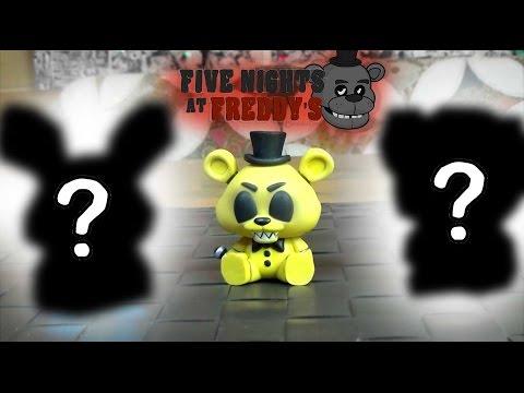 Five Nights at Freddys - Игрушки сюрприз ФНАФ - Пять Ночей С Фредди - Mystery Minis (4/4)