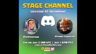 Clash Mini Discord Stage #2! | Podcast with Vlad, Community Manager of Clash Mini!