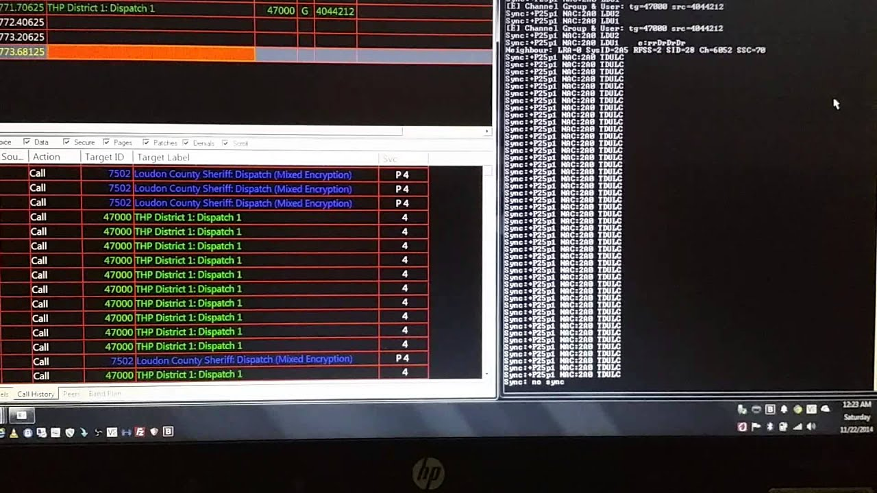 TACN P25 SDR DSD+ decoding