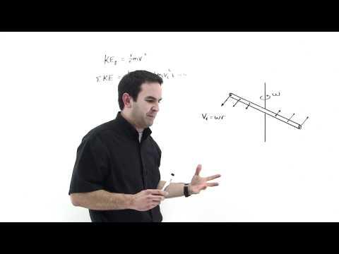 Moment of Inertia and Kinetic Energy