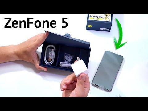 Unboxing del Asus ZenFone 5 2018