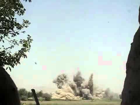 HIMARS Missile Impact On Taliban Position Afghanistan
