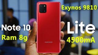 سعر ومواصفات وعيوب Samsung Galaxy Note 10 lite   مميزات سامسونج جلاكسى نوت 10 لايت