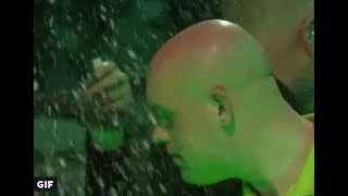 World Darts Championship NIGHT 3! MvG SPLASHED With Beer & Fan BANNED From Darts for Life! #Darts