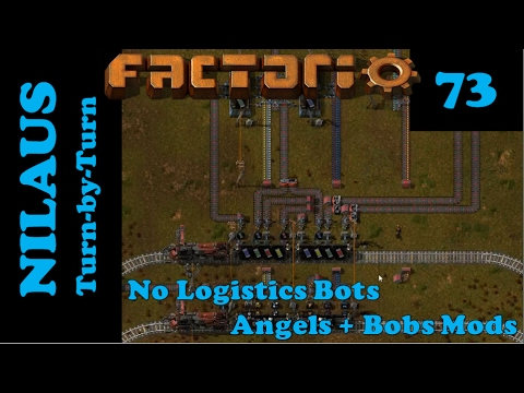 Factorio S6E73 - Red, Green, Blue and Yellow Catalysts in a single City Block