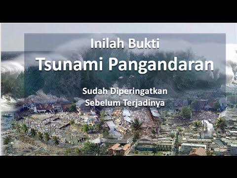 Inilah Bukti Tsunami Pangandaran Telah Diperingatkan