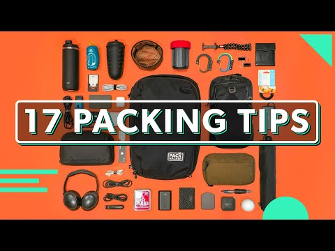 17 Minimalist Packing Tips For Weekend Trips & Everyday Carry | How To Pack Better For Travel & EDC
