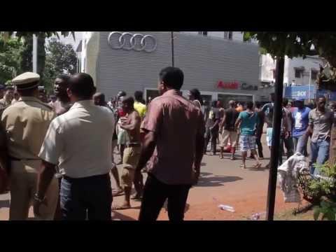 Nigerian's creating havoc at Porvorim
