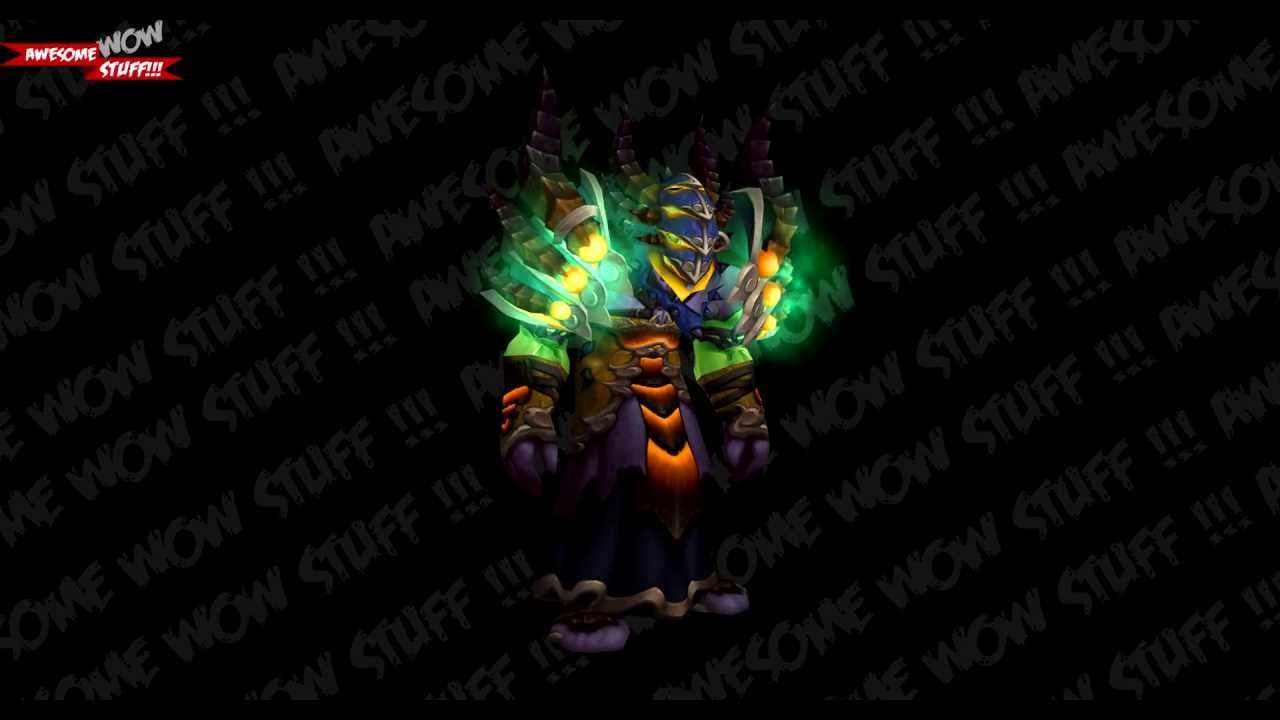 Wow tier 16 warlock orc preview patch 5 4 youtube for Wow portent 5 4