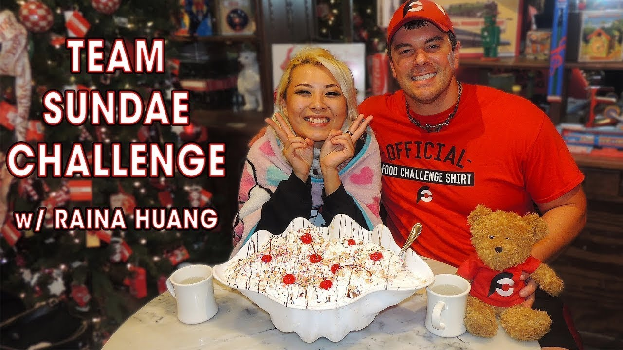 Massive Kitchen Sink Ice Cream Sundae Team Challenge Youtube