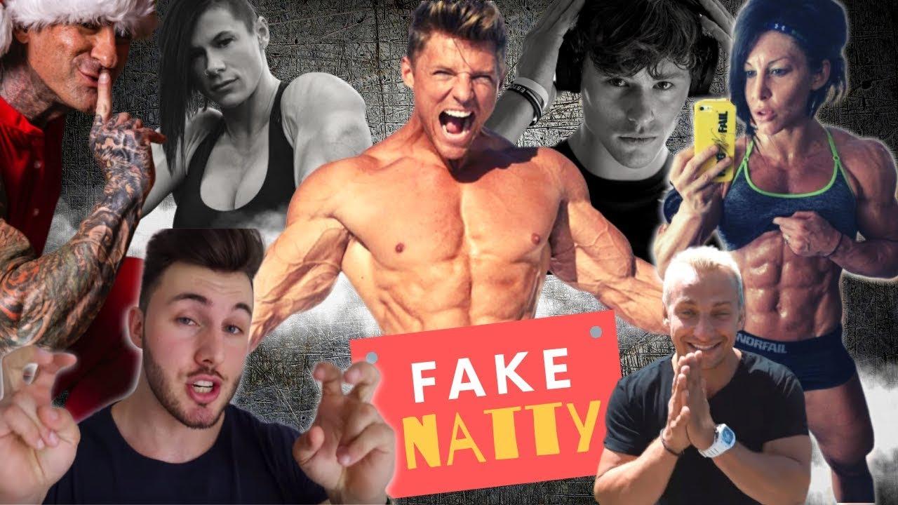 The Fake Natty FOOLS of Fitness
