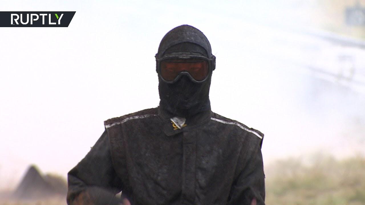 بدلة روسية جديدة تحميك من الانفجارات!