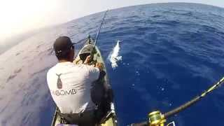 EXTREME KAYAK FISHING HAWAII - STAND STRONG!!!