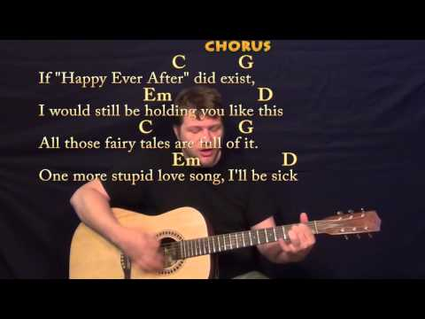 Payphone (Maroon 5) Strum Guitar Cover Lesson with Chords & Lyrics