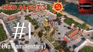 C&C: Red Alert 3 - Soviet Campaign Playthrough Part 1 (The Shrike and the Thorn, No Commentary)