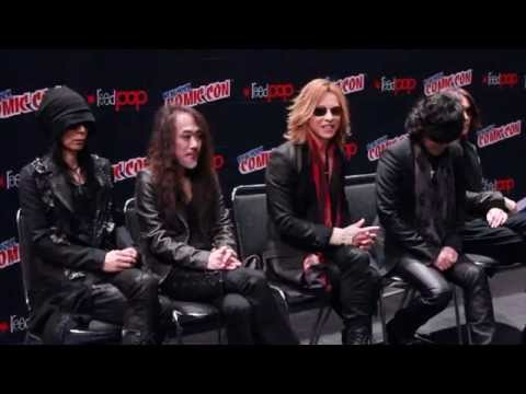 Yoshiki and X JAPAN Interview and Press Conference