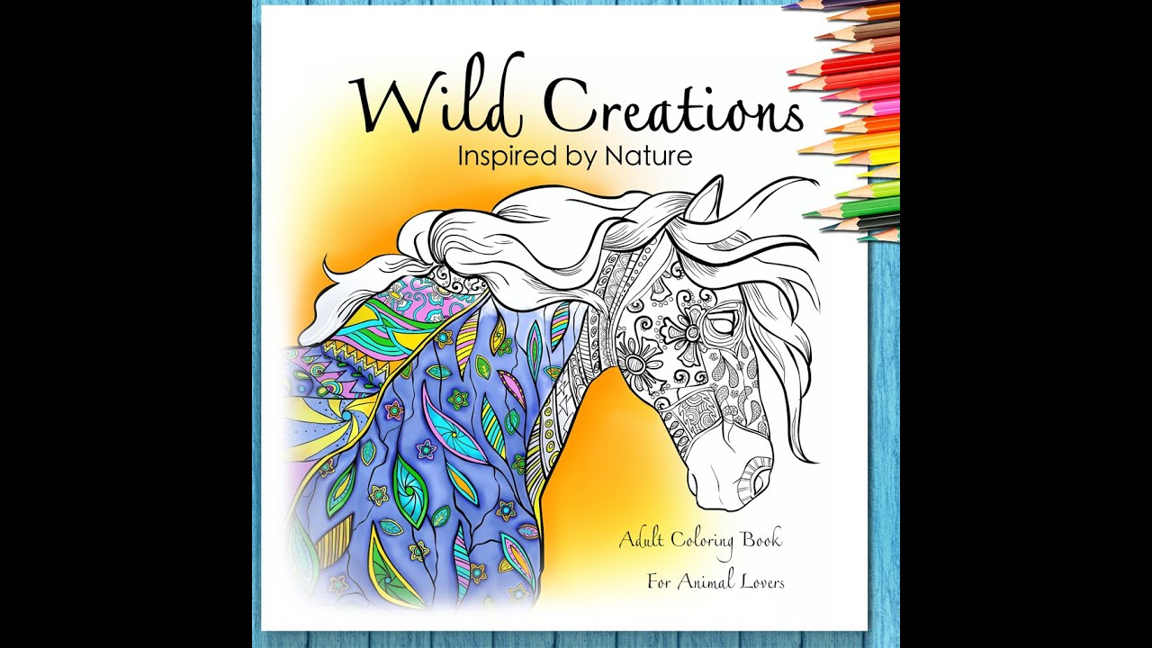 Coloring Book For Adults Animal Lovers