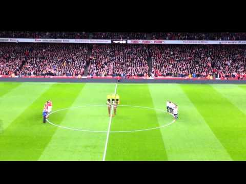 Remembrance Day Emirates Stadium