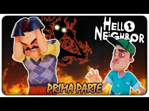 I TERRIBILI SEGRETI NEGLI INCUBI DEL VICINO (1° parte - gioco completo)   Hello Neighbor [ITA]