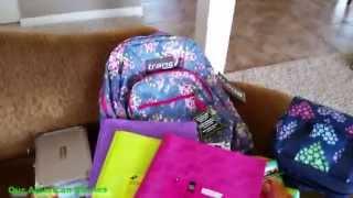 США | Наши покупки к школе