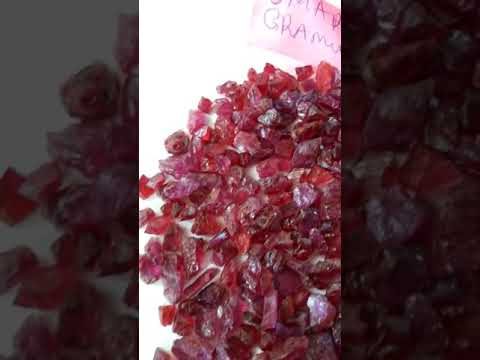Natural Ruby from Tanga Mines Tanzania