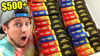 I WENT CRAZY BUYING ALL THE WALMART HIDDEN FATES BOXES I COULD FIND! Opening Pokemon Cards