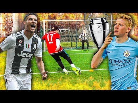EPISCHE CHAMPIONS LEAGUE FUßBALL CHALLENGE!!!