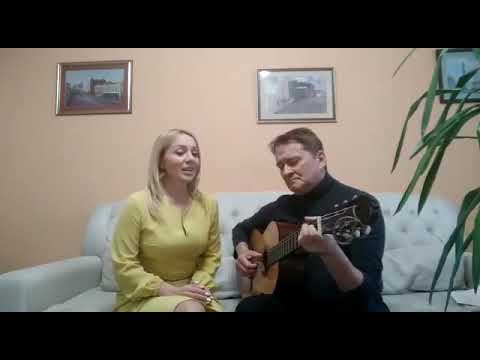 """Анастасия Зеленская и Юрий Миргородский. """"В землянке"""""""