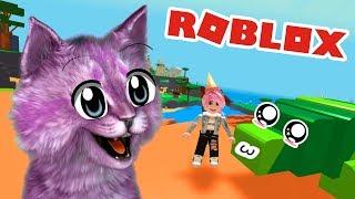 ПОКОРМИ ПИТОМЦА В РОБЛОКС! ВЫРАСТИЛА ЯЩЕРИЦУ ROBLOX Feed your pets!