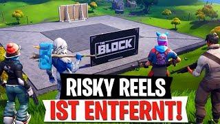 Risky Reels ENTFERNT! Was ist THE BLOCK? | Neues Update | Fortnite Battle Royale