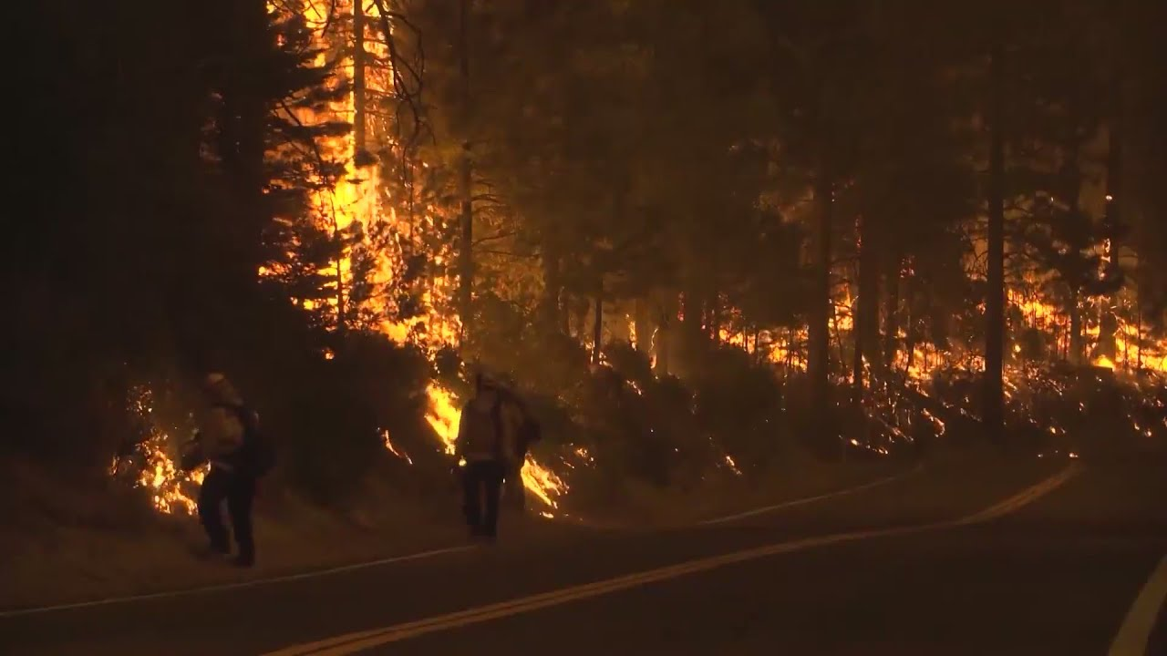 Eyewitness News Creek Fire at 201,908 acres and 10% contained, winds causing concerns
