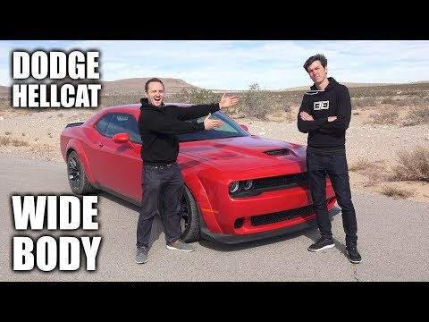 10 Things You Didn't Know About The Dodge Hellcat Widebody