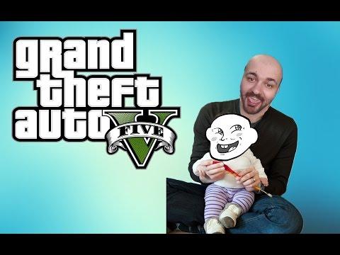GTA 5 - SHQIP -  Tu e nguc lojtarin e ri !!!