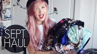 Huge Collective Haul | September 2013 Thumbnail