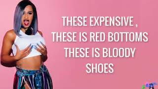 Cardi b - bodak yellow lyrics