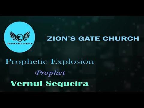 """Prophetic Explosion"" | Prophet Vernul Sequeira"