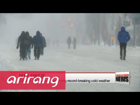 Severe cold wave grips Korea, Asia and eastern United States