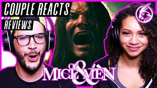 """COUPLE REACTS - Of Mice & Men """"Mushroom Cloud"""" - REACTION / REVIEW"""
