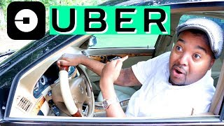 Our Dad is an UBER Driver! - Onyx Family