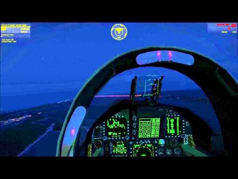 Arma 3 - Wake Island by night