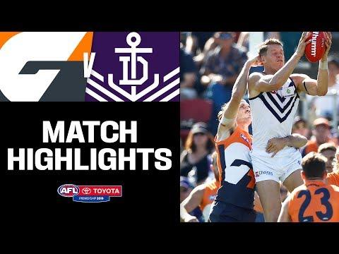 Battle of the key forwards | GWS v Fremantle Highlights | Round 5, 2019 | AFL