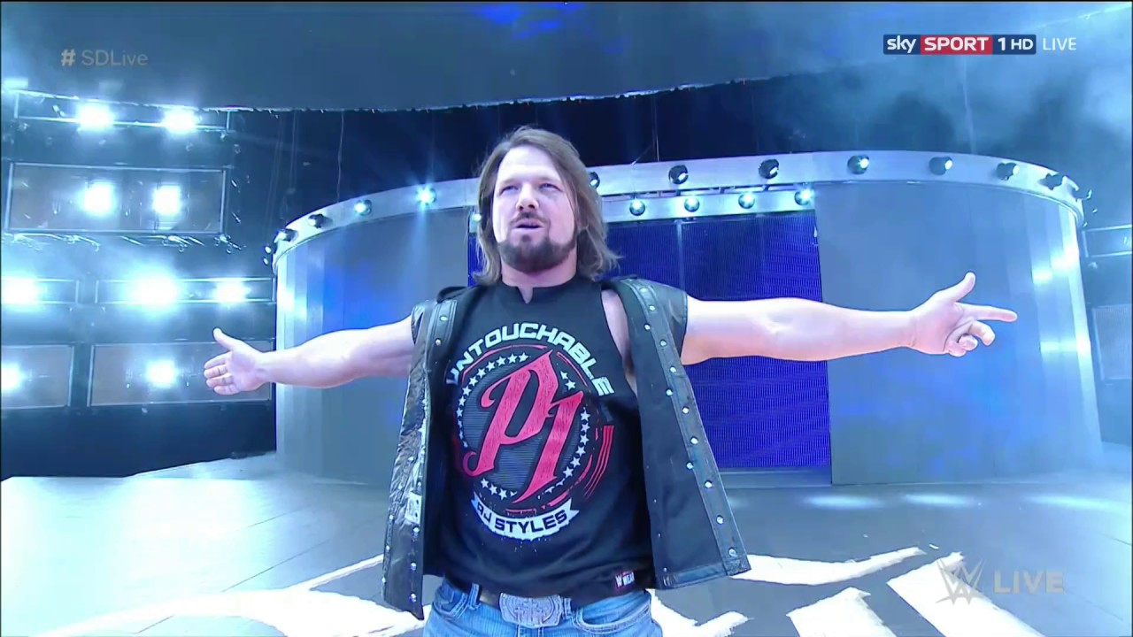 Download #4 Edited WWE AJ Styles Theme Song With Arena Effects